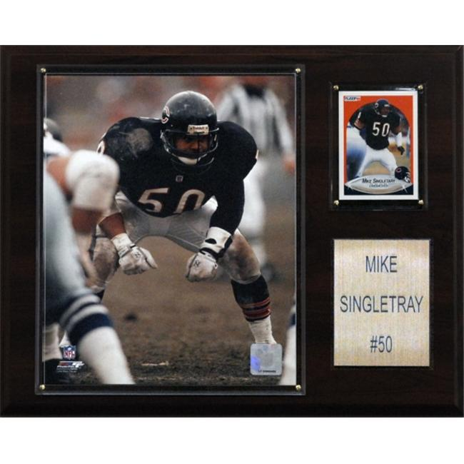 C & I Collectables 1215SINGLET NFL Mike Singletary Chicago Bears Player Plaque