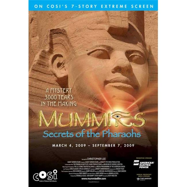 Posterazzi MOVEJ7747 Mummies-Secrets of the Pharaohs Movie Poster - 27 x 40 in. - image 1 of 1