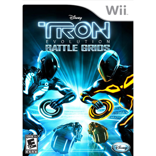 Tron:Evolution-Battle Grids (Wii)