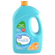 (2 Pack) Great Value Automatic Dishwash Gel, Orange Scent, 75 oz