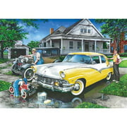 Three Generations - Childhood Dreams 1000 Piece Puzzle Multi-Colored
