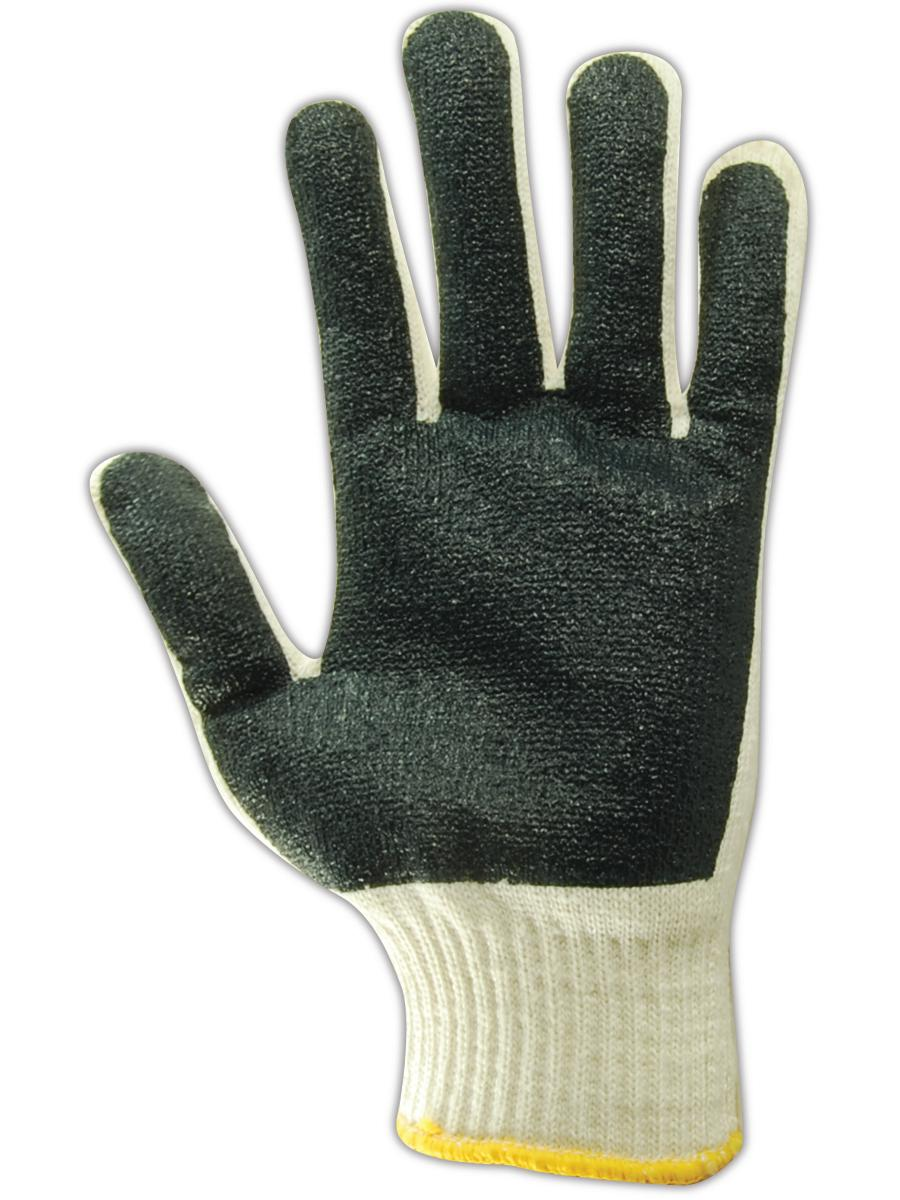 Magid MultiMaster Nitrile-Coated Mens Machine Knit Gloves, 12 Pairs