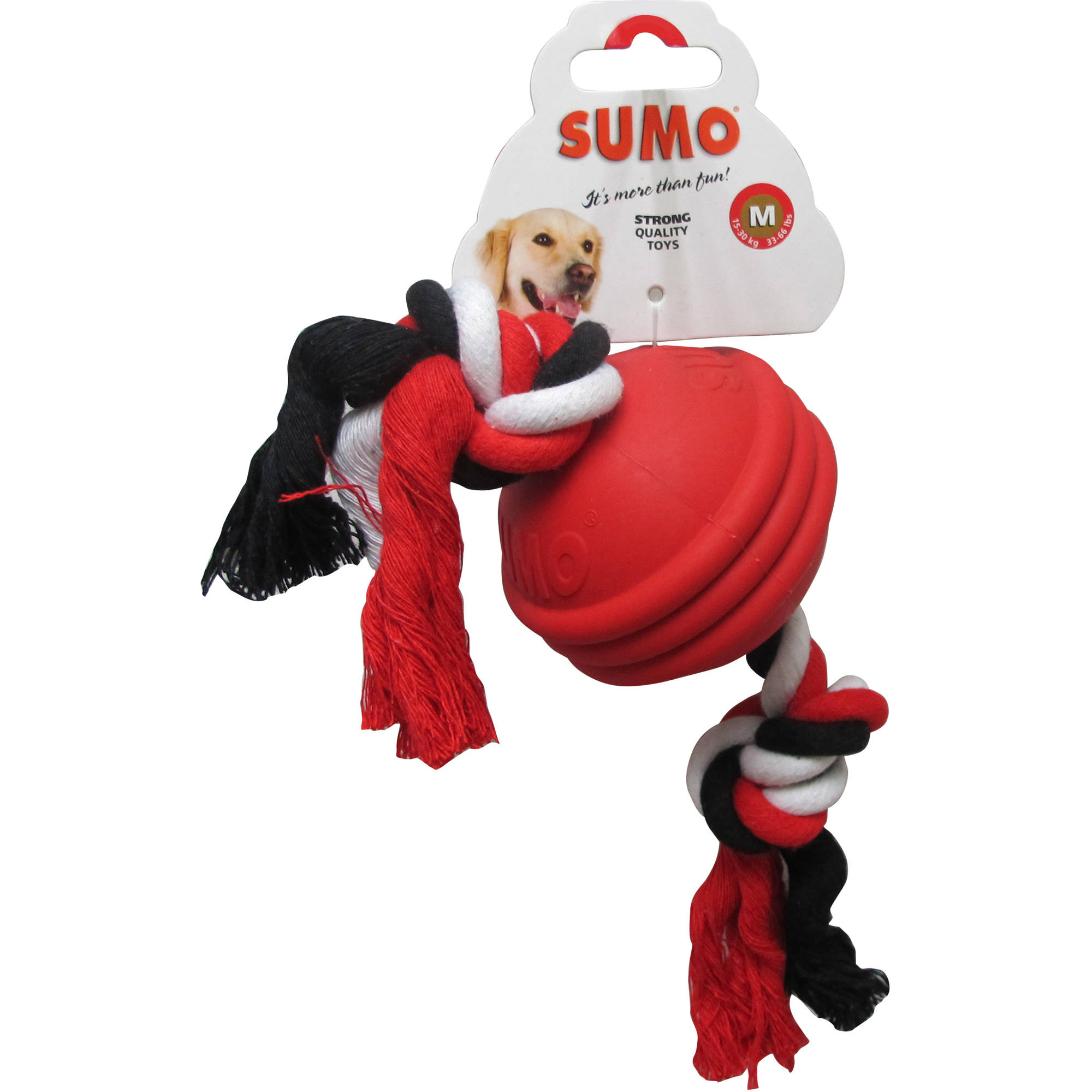 Sumo Flossy with Ball, Red