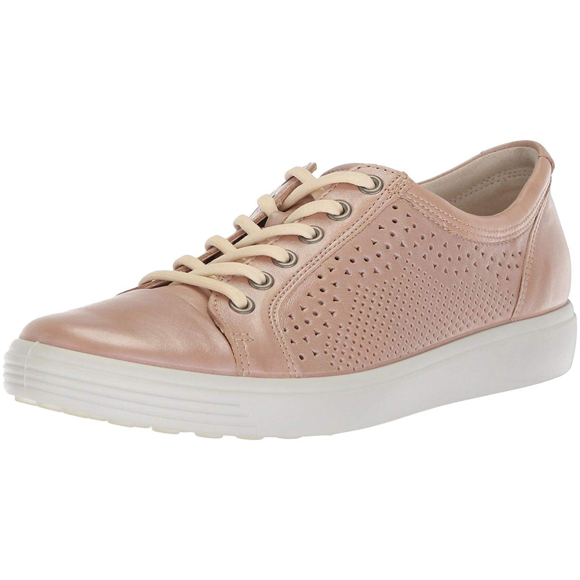 75693900 ECCO Womens Soft 7 Low Top Lace Up Fashion Sneakers | Walmart Canada