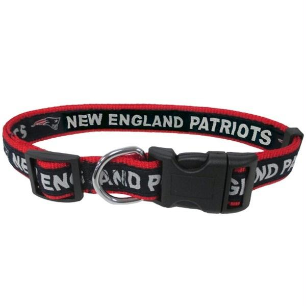New England Patriots Pet Collar by Pets First - Small
