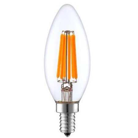 Aspen Brands LEDB114W27 4W The Work Horse of The Candelabra All-Purpose Bulb, Clear - image 1 de 1
