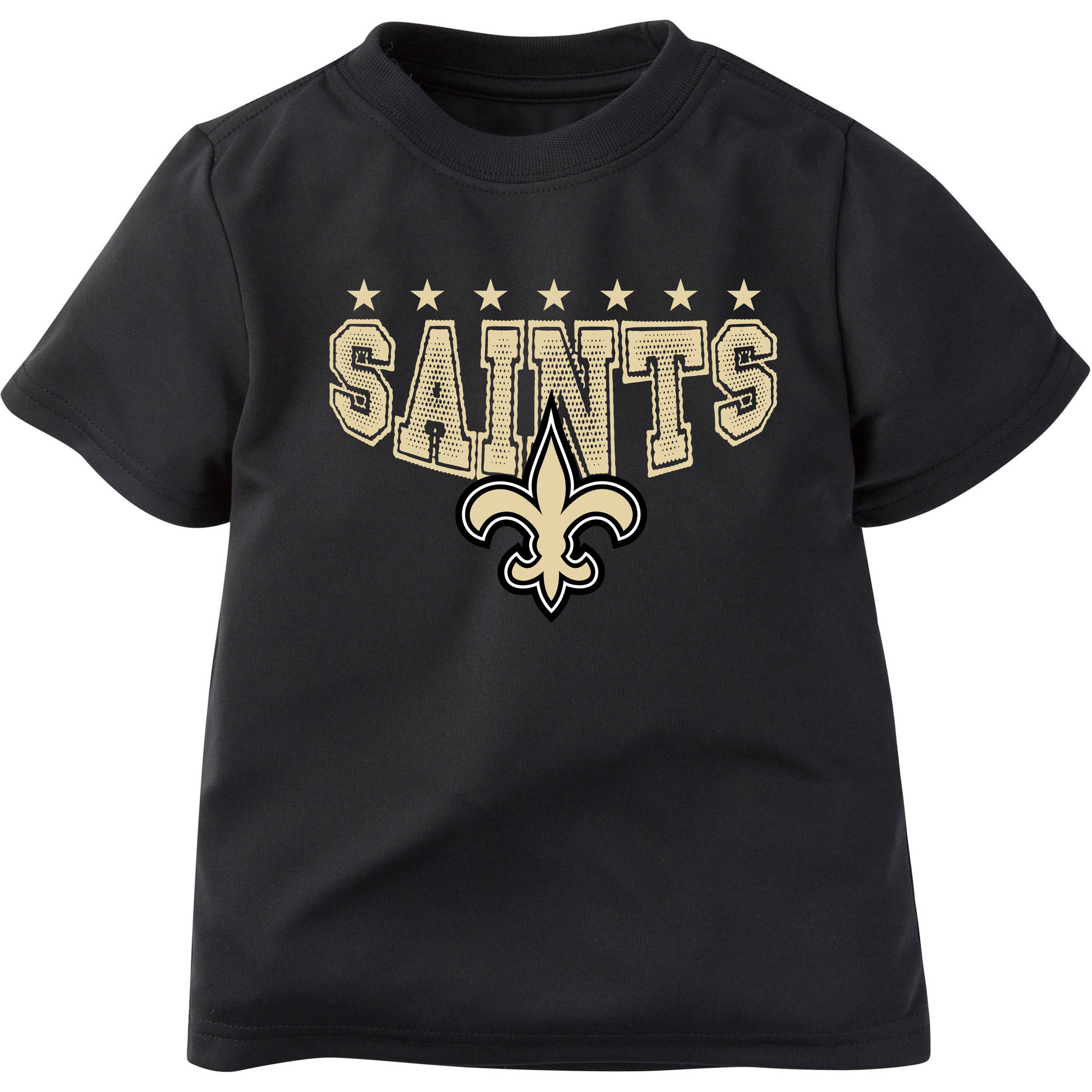 NFL New Orleans Saints Boys Short Sleeve Performance Team T Shirt