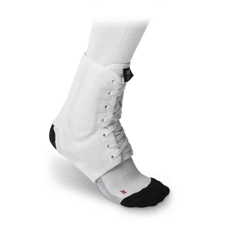 McDavid Classic Logo 199 CL Level 3 Ankle Brace / Lace-up W/ Stays White Medium
