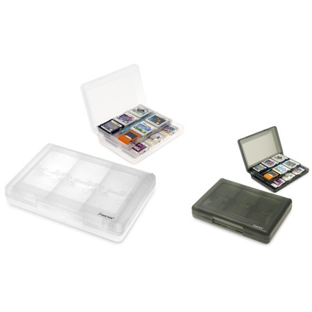 Insten 2 Packs 24 In 1 Game Card Cases For Nintendo 3ds 3ds Xl Ll