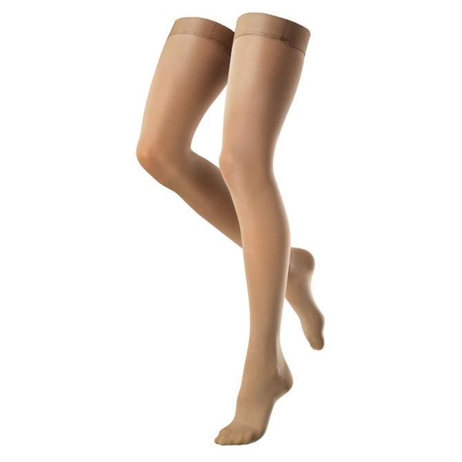 Venosan VenoSoft Closed Toe Thigh Highs w/ Silicone Dot Band - 30-40 mmHg   VTH4260