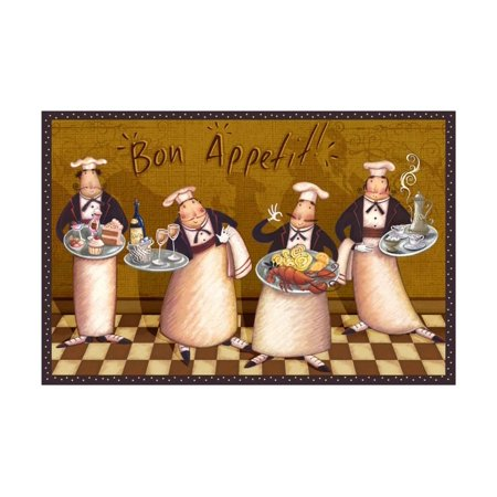 Bon Appetit Sunflower (Bon Appetit Print Wall Art By Viv)