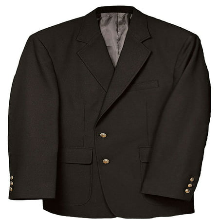 Edwards Garment Men's Classic Two Button Single Breasted Blazer, Style 3500