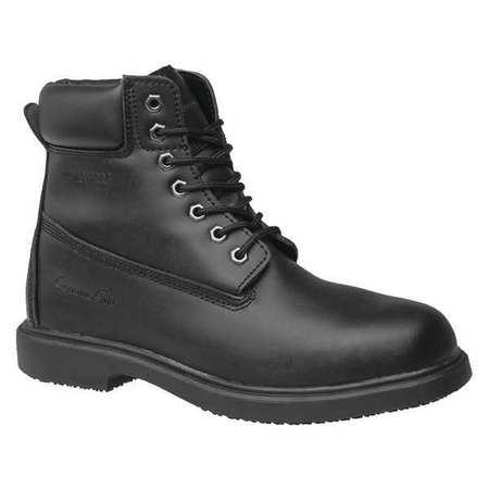 GENUINE GRIP 7160-11W Work Boots, Black, Mens, 11, W, PR