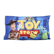 Disney Pixar Toy Story 4 Standard Pillowcase for Kids 20 x 30 Inch [1 Piece Pillowcase Only]