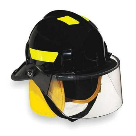 CAIRNS 360SFS BLUE Fire Helmet, Blue, Modern