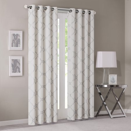 White Quality Park (Home Essence Sereno Fretwork Print Window)