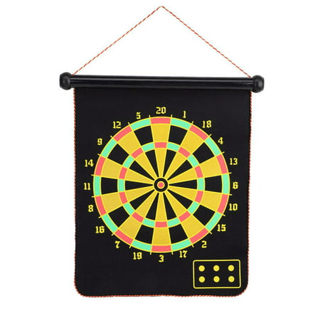 Spptty Double Sided Dartboard,Magnetic Dartboard,15inch Magnetic Double Sided Dart Board Wall Hanging Dartboard with 6 Safety Darts - image 8 of 8