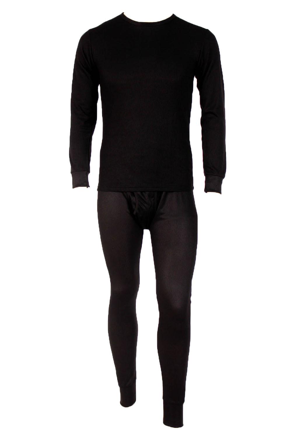 Men's Two Piece Long Johns Thermal Underwear Set by Long Underwear