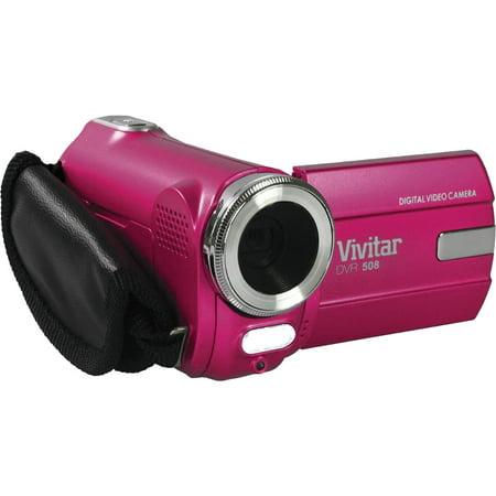Vivitar DVR-508 HD Digital Video Camera Camcorder (Pink) - Walmart.com