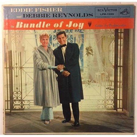 LP EDDIE FISHER AND DEBBIE REYNOLDS IN BUNDLE OF JOY Ships In 24 Hours (Debbie Reynolds Halloween)