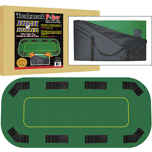 Trademark Poker Texas Hold'Em Full Size Folding Table Top