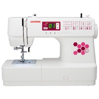 Janome C30 Computerized Sewing Machine with 30 Stitches, including Buttonhole, Jam-Proof Bobbin and LCD Screen