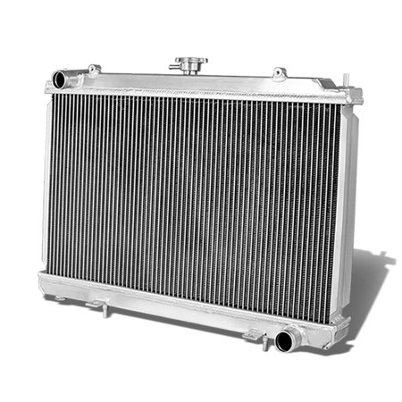 For 1995 to 1998 Nissan 240SX Full Aluminum 2-Row Racing Radiator - S14 SR20DET 96 97 Sr20det Aluminum Radiator