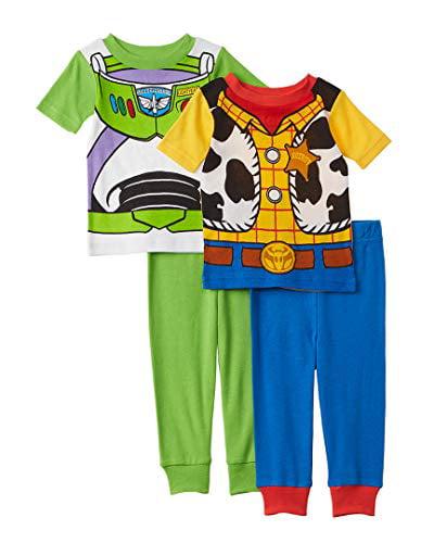 Toy Story Buzz Woody Pyjamas Childrens Kids Boys PJs Age 18 Months 6 Years