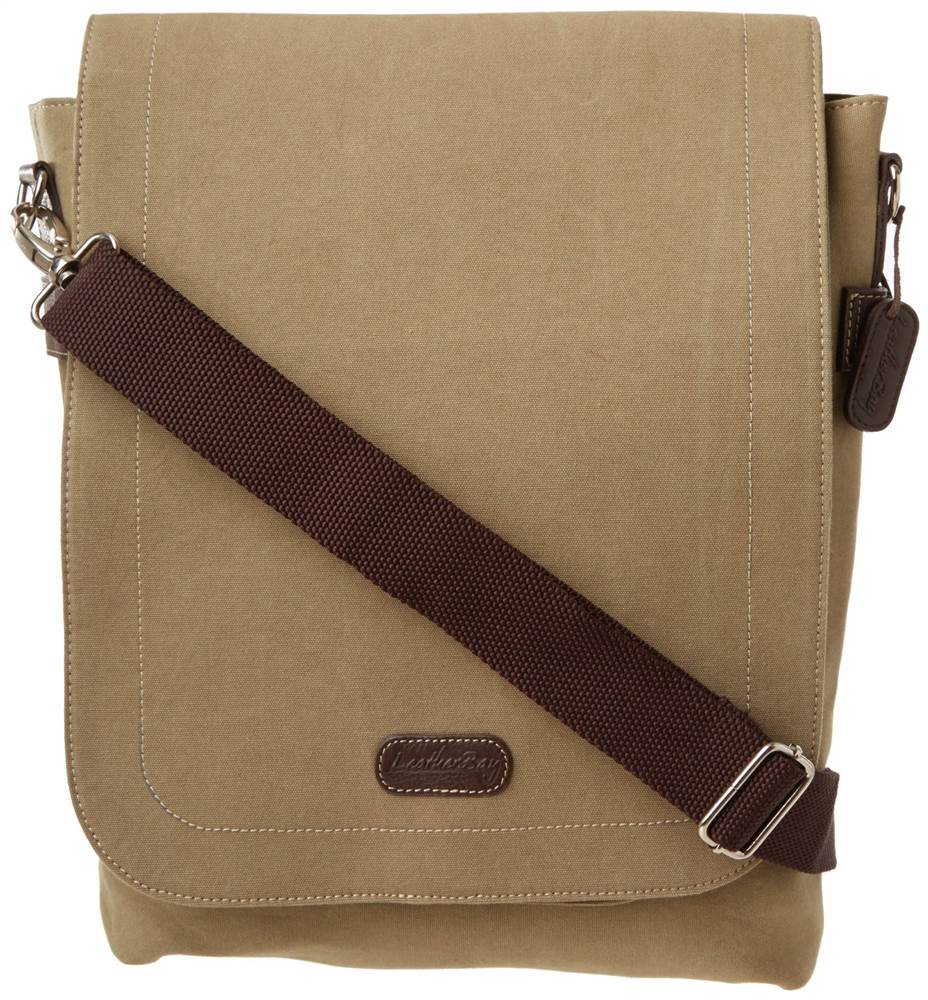 Leatherbay Urban Hipster Bag in Stone Olive