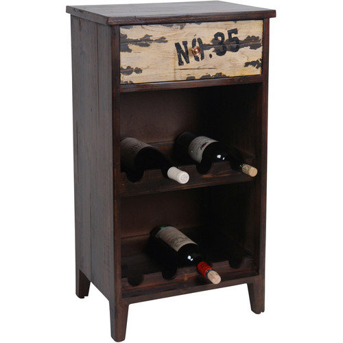 Wilco Home 8 Bottle Wine Cabinet