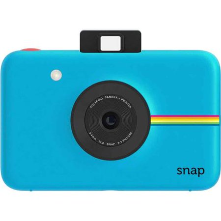 Polaroid SNAP 10MP Instant Digital Camera, Blue (The Best Polaroid Camera 2019)