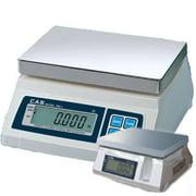 CAS SW-5-D Portable Digital Scale W  Dual Display  5 lb x 0 002 lb  Legal for Tr