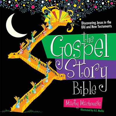 The Gospel Story Bible: Discovering Jesus in the Old and New Testaments (Hardcover)