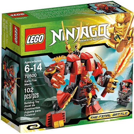 LEGO Ninjago Kai Fire Mech Play Set