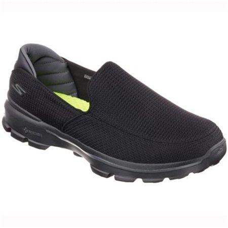 Skechers Mens GOwalk 3 Walking Shoes-11.5,BLACK
