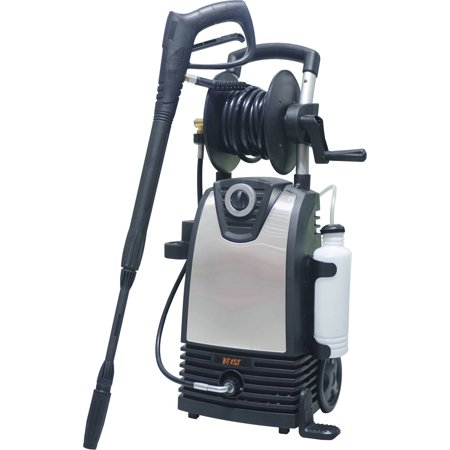 Beast Premium Stainless Steel 2000-PSI 1.5-GPM Electric Pressure Washer with Bonus Accessories