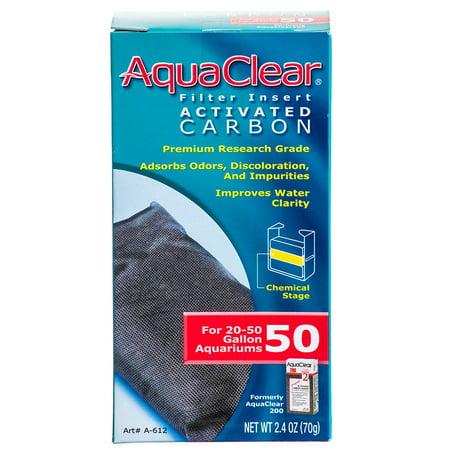 Aquaclear Aquaclear Powerhead Pump (Hagen AquaClear AquaClear Activated Carbon Filter Inserts 50 / 200 Carbon Insert - 1 Pack)