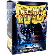 Card Supplies Dragon Shield Black Card Sleeves [100 ct]