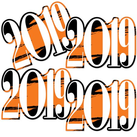 Orange Grad - Best is Yet to Come - 2019 Decorations DIY Orange Graduation Party Essentials - Set of 20 - Diy Graduation Cap Decorations