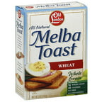 Old London All Natural Wheat Melba Toast, 5 oz (Pack of 12)