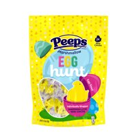 PEEPS 24ct Egg Hunt, Individually Wrapped Chicks
