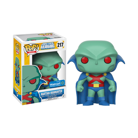 Funko Pop  Dc Heroes  Justice League Animated   Martian Manhunter Walmart Exclusive