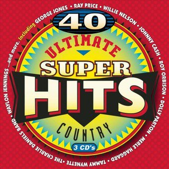 1 Country Hits Import - Ultimate Country Super Hits / Various (CD)