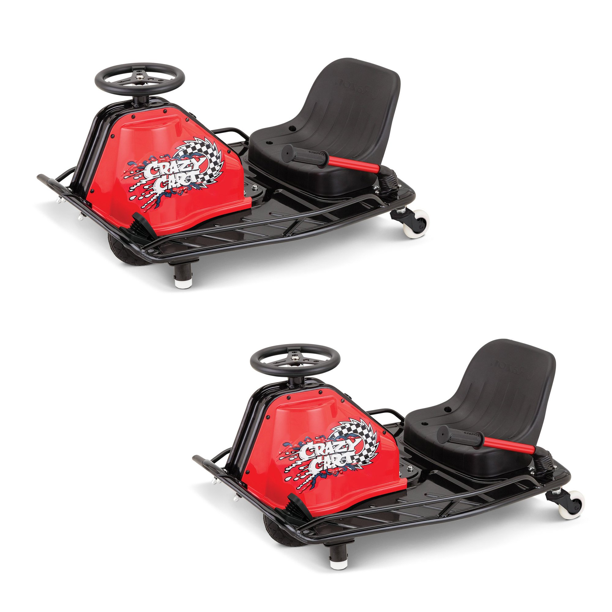 Razor Crazy Cart Electric 360 Spinning Drifting Kids Ride