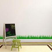 Grass Wall Decal (8x22) FOREST GREEN