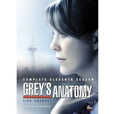 Greys Anatomy  The Complete Eleventh Season  Dvd