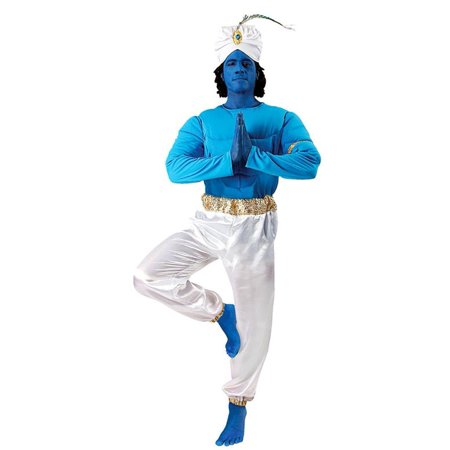 Blue Genie Men's Costume
