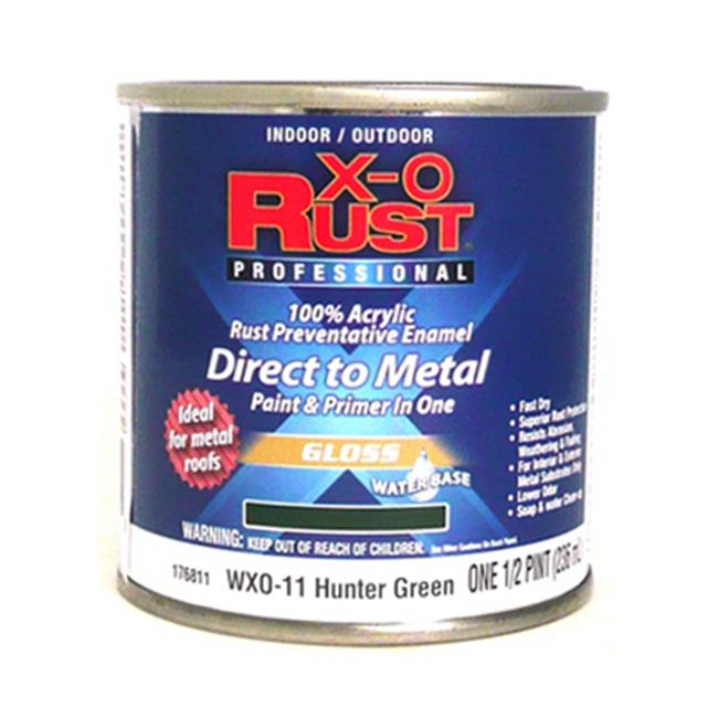 True Value Mfg Company WXO11-HP WXO0.5 Pint Hunter Green Waterborne Enamel