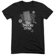 Twilight Zone Monologue Mens Tri-Blend Short Sleeve Shirt