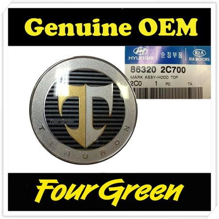 Hood Emblem for Hyundai 01-08 Tiburon OEM NEW [863202C700] ()
